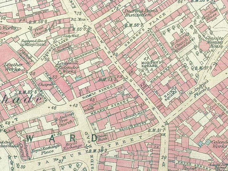 Old Dundee map.