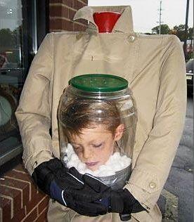 disfraces halloween caseros originales cabeza