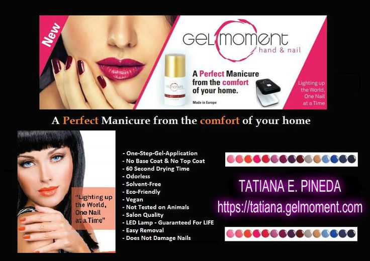 GelMoment, the 1-step, DIY gel nail polish. Saves money, convenient, no fumes, lasts 2 weeks, dries in 60 seconds, Ground-floor business opportunity- PLACE YOUR ORDER ON MY WEBSITE AND I WILL SEND YOU A FREE METAL CUTICLE PUSHER (a $9 value) AS A THANK YOU. https://anitam.gelmoment.com/  #GelNails #GelMoment #nailpolish #gelpolish #WAHM  #businessopportunity