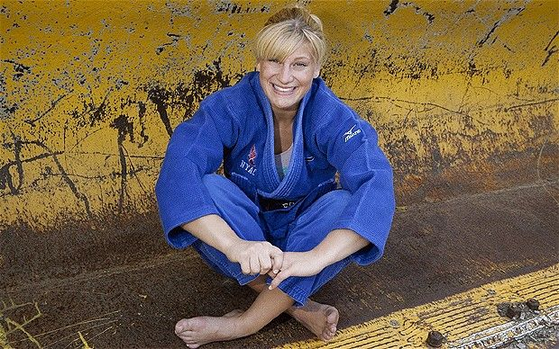 8/2/12 - USA-  Kayla Harrison  - GOLD!! - The most decorated Judo champ in America - male or female.  Awesome!!!