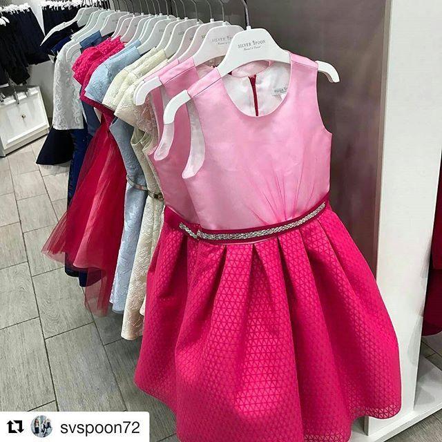 Самые яркие и красивые платья у нас в #SilverSpoon в коллекции #SilverSpoonCeremony! В продаже в наших магазинах и магазинах-партнерах. Добавьте ярких красок и волшебства в жизнь вашей маленькой принцессы:) #красивоеплатье_дети #платьядлядевочки #платья_дети #магазиндетскойодежды #вечерняямода_дети #магазиндетскойодежды #дети #длядочки #длядевочки #розовый