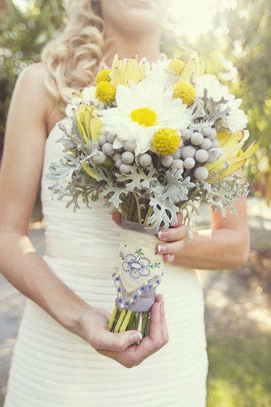 photo of Yellow and Grey Fall Wedding in California