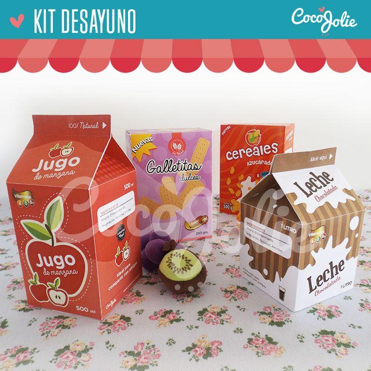 para jugar a la cocinita y al supermercado de verdad! http://www.cocojolie.com.ar/juguetes-de-papel1/