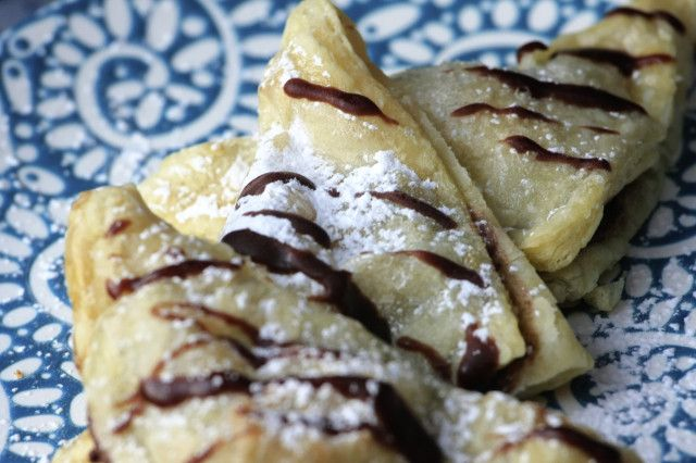 Nutella Marshmallow Turnovers recipe pictures