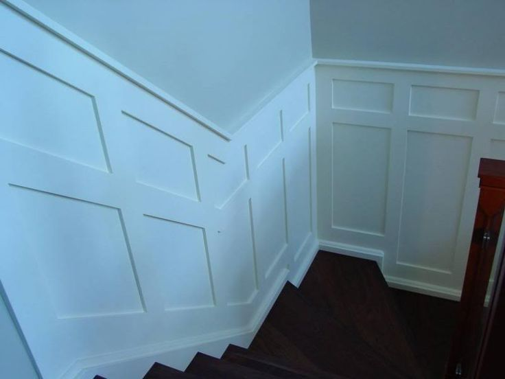Thread new walnut staircase and wainscot - Stairs Designs living ...