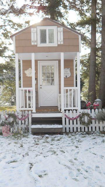 Shabby Chic Tiny Retreat My House