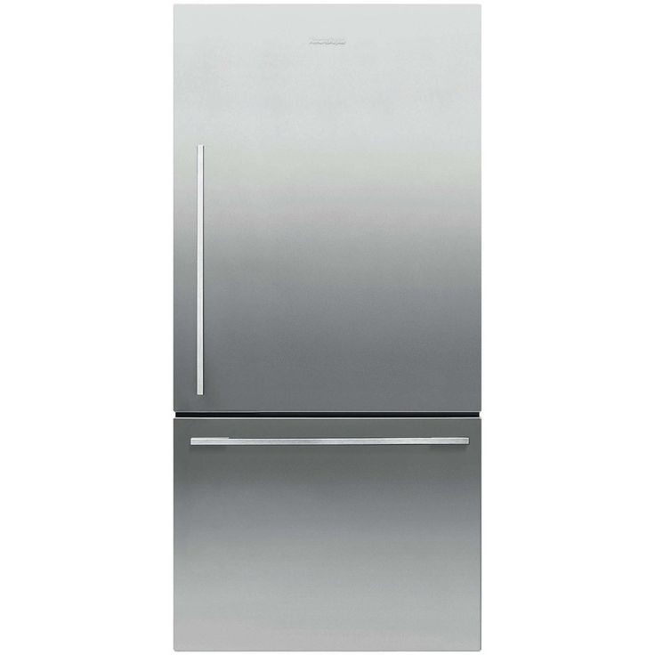 Fisher & Paykel 17.1-Cu Ft Counter-Depth Bottom-Freezer Refrigerator (Stainless Steel) Energy ...