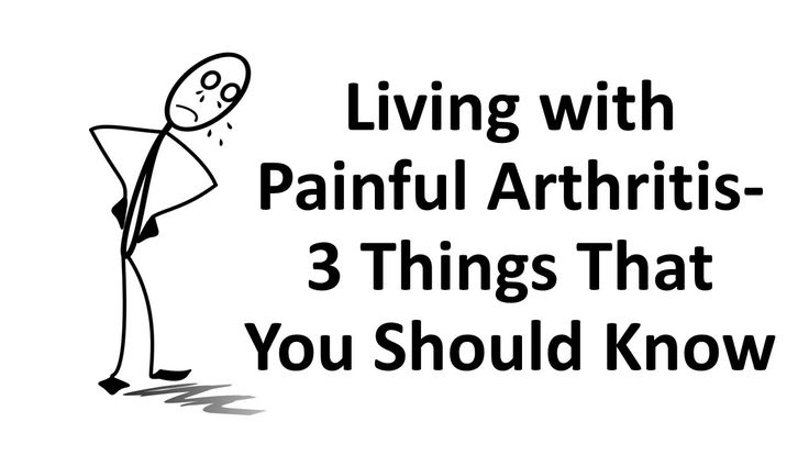 Living with Painful Arthritis- 3 Things That You Should Know --- The knees, hips and the fingers are commonly affected by arthritis. Living with painful arthritis can be disabling, it is one of the causes of disabilities in people with this joint disease. People with severe arthritis often worry about their mobility or functionality in their everyday lives. This joint disorder inhibits a person's physical functionality. #arthritis #rheumatism