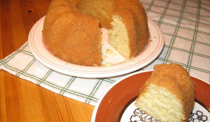 Ett gammalt recept på en saftig sockerkaka.