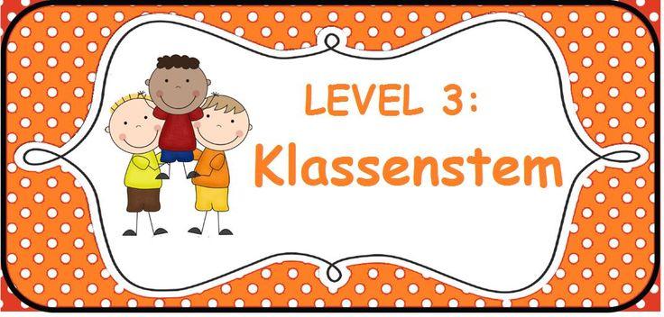 Stemvolume: level 3 klassenstem - Sarah Verhoeven -