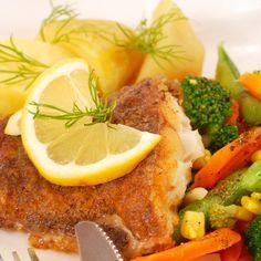 A crunchy breaded halibut recipe that is easy to prepare and is so delicious.. Breaded Pan Fried Halibut Recipe from Grandmothers Kitchen.