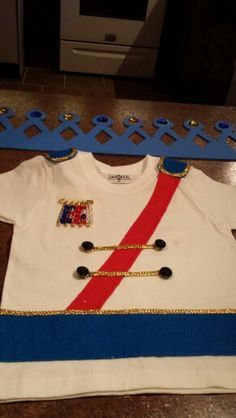 Prince Charming costume made for a Princess party!