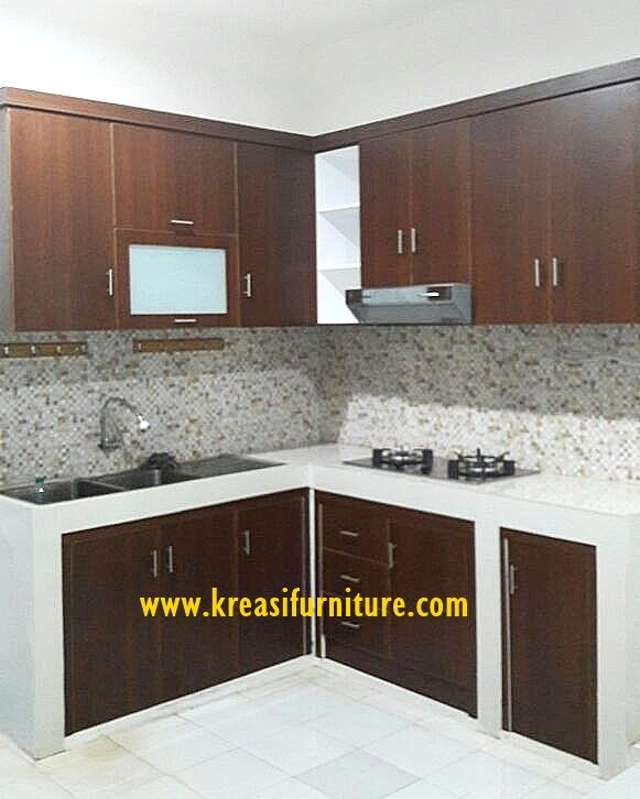 kitchen set minimalis mewah merupakan kitchen set yang bergaya minimalis dengan bahan dasar MDF pilihan dengan kontruksi yang kuat dan tahan lama