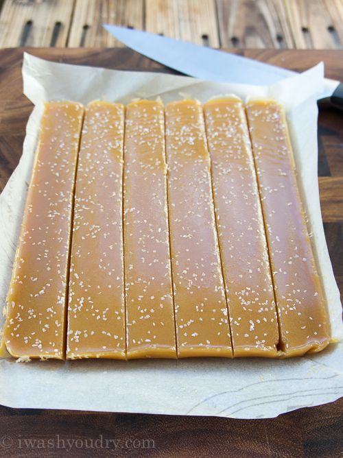 Honey Salted Caramels