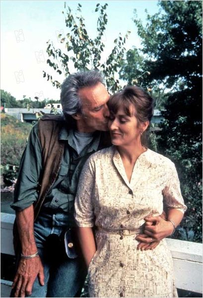 THE BRIDGES OF MADISON COUNTY (1995) - Clint Eastwood & Meryl Streep - Based on best-selling novel by Robert James Waller - Directed by Clint Eastwood - Warner Bros. - Publicity Still.