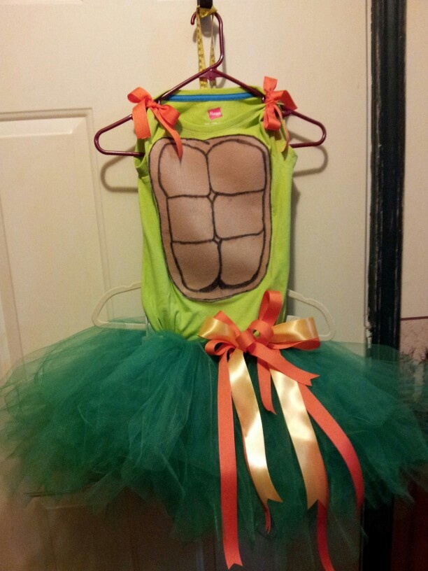 Teenage mutant ninja turtle tutu.
