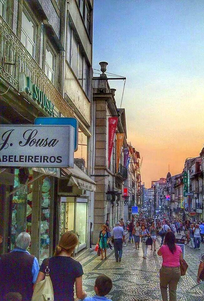 Porto - Santa Catarina street