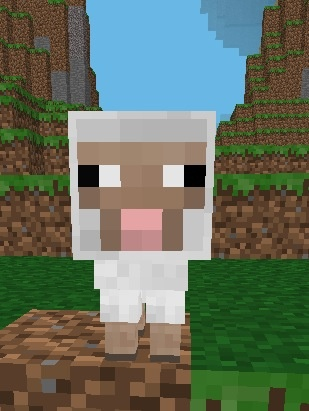 Cutest baby sheep!!! | Epic minecraft stuff ...