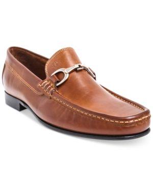 Donald Pliner Men's Darrin Bit Loafer - Brown 11M