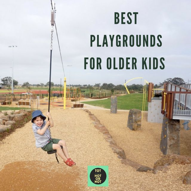 If you have older kids or kids who are adventurous and happy to tackle a challenge then here's a pick of the 10 MORE great playgrounds in Melbourne for older kids.