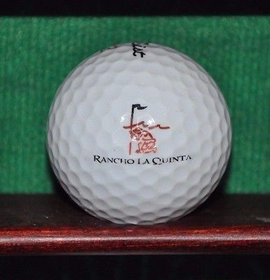 Rancho La Quinta Country Club logo Golf Ball. Titleist