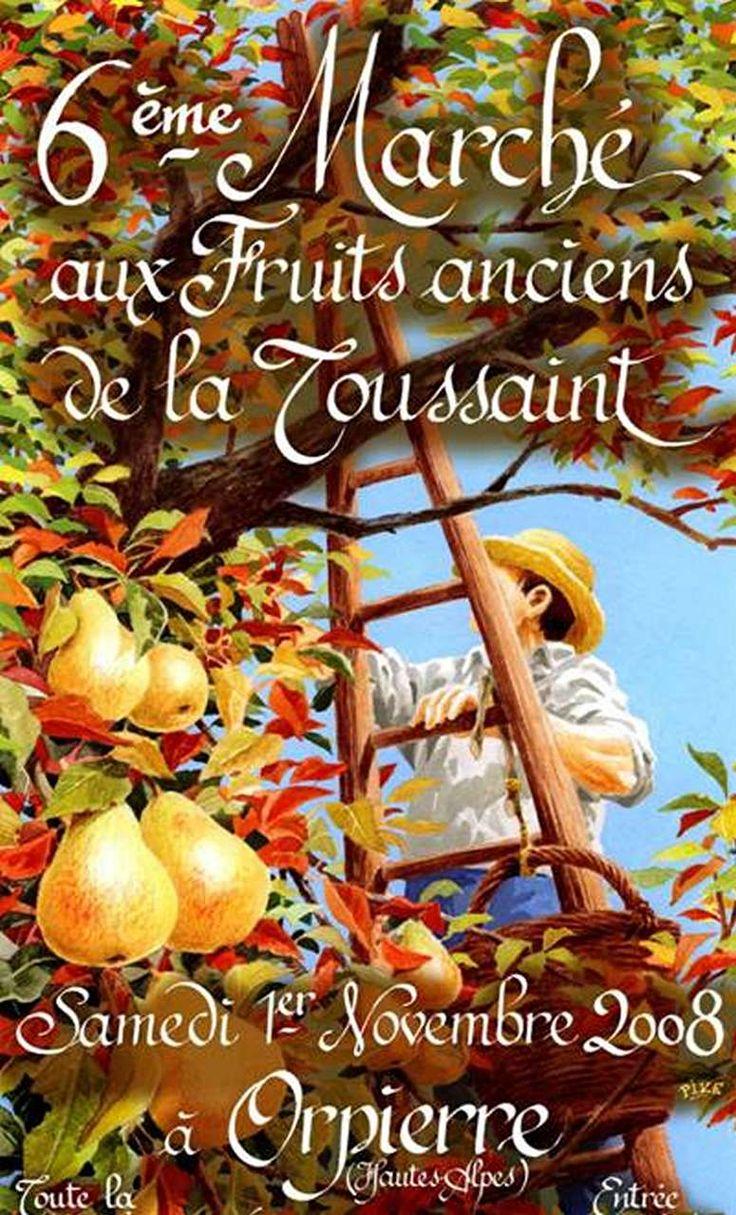 Orpierre 1er Novembre 2008 #orpierre #produitslocaux #baronnies