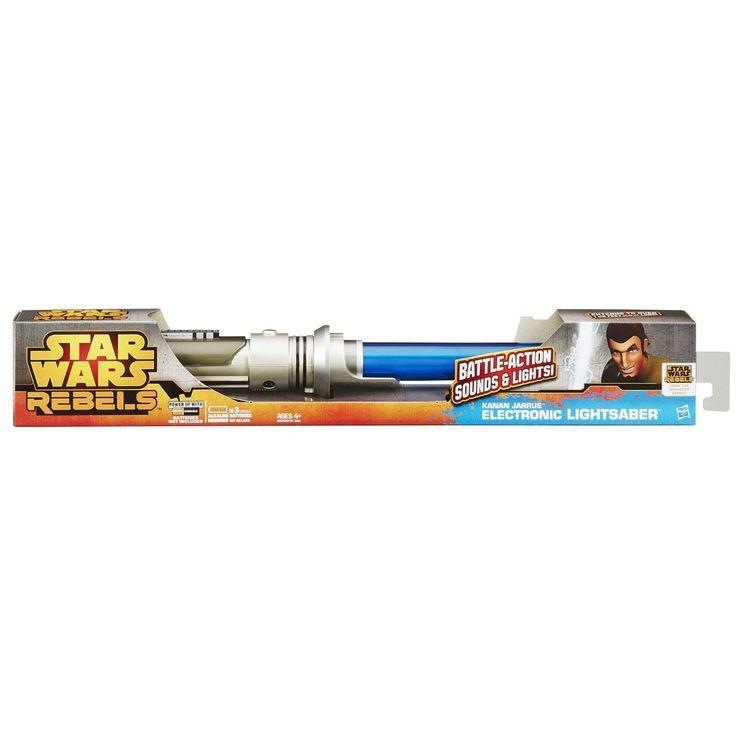Star Wars Rebels Kanan Jarrus Electronic Lightsaber Toy - $39.94
