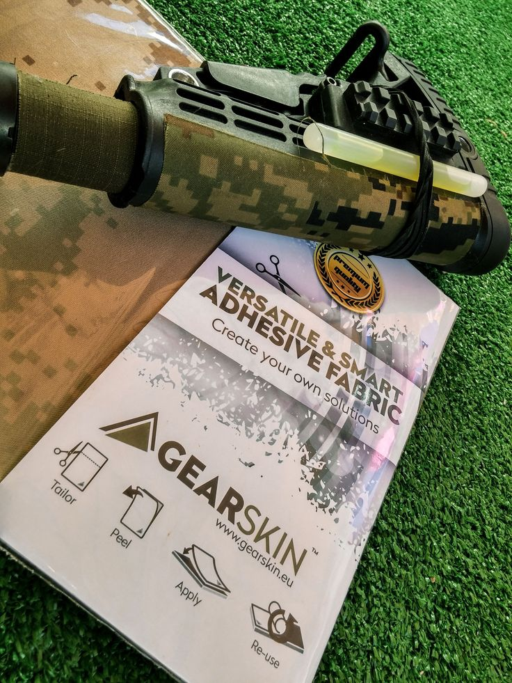 Get your #gear look more #tactical and awesome with #gearskin, follow up with twitter (twitter.com/gearskin) and like our facebook page (https://www.facebook.com/gearskin.eu?ref=ts&fref=ts )