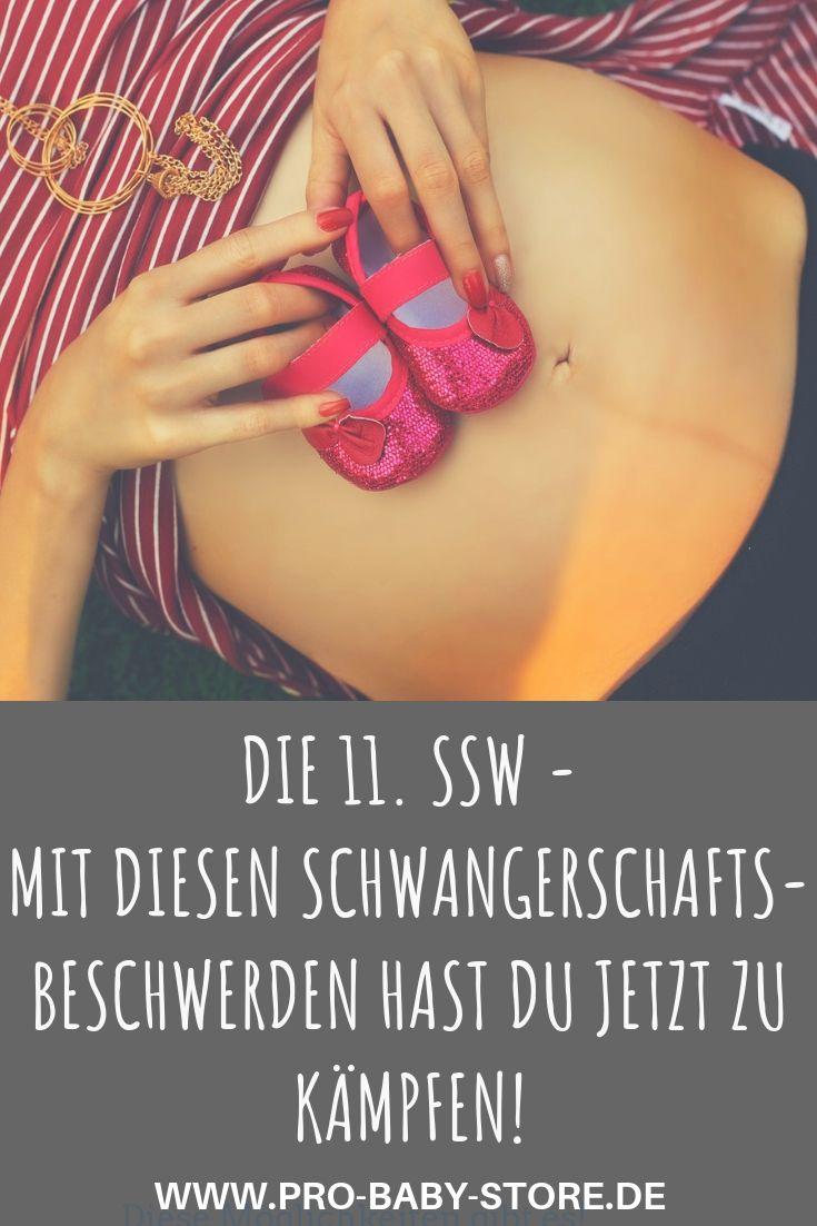 Die 11. SSW – das alles passiert in deinem Bauch