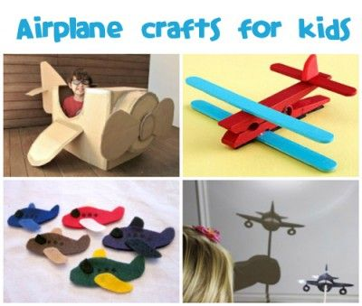 November is National Aviation Month and August 19th in National Aviation Day, but kids don't need a special occasion to create fun airplane ...