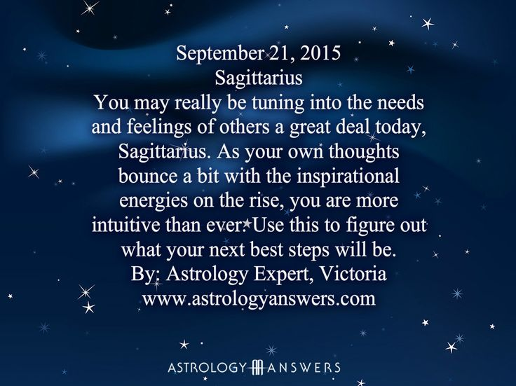The Astrology Answers Daily Horoscope for Monday, September 21, 2015 #astrology
