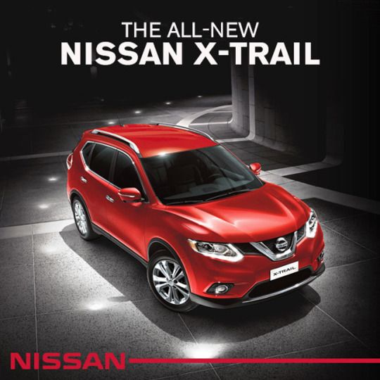Our all-new Nissan Xtrail has the look that just won't quit. From the front, sides, and back, it gives off a muscular characteristic that is surely testosterone-driven.   #NissanXtrail #NissanCDO #XTrail