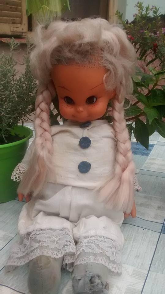 Clarita, muñeca Rayito de Sol, década del 70, corrían esos años cuando Papá…