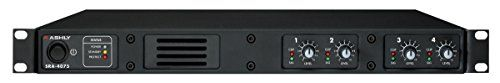 Ashly SRA-4075 Amplifier Four Channel 40 Watt Ch at 8 Ohms 1RU Chassis Class D Output Circuitry