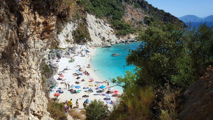 Agiofili beach, Lefkada, Greece