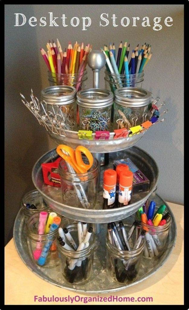 DIY Tiered Baskets