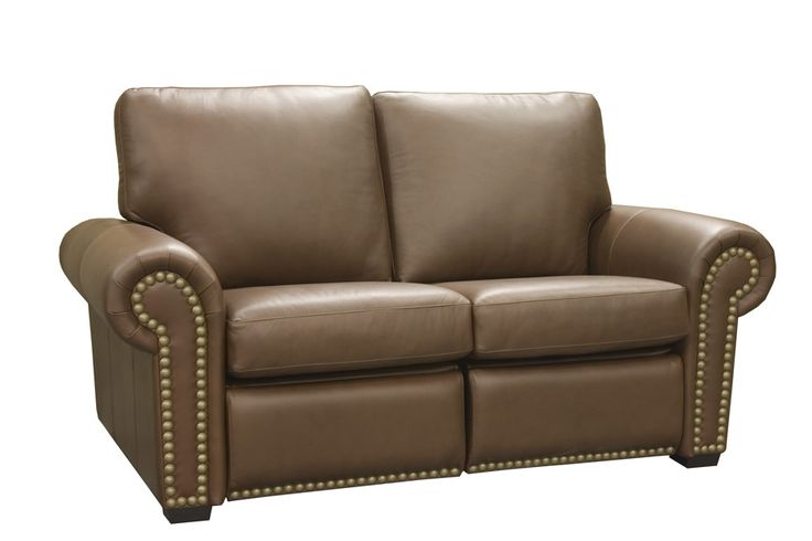 Aurora Leather Reclining Loveseat | Wayfair