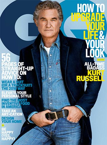 """Is anyone else shocked at how hot Kurt Russell has turned out to be in his later years?? I'd say even more so than George Clooney... If only he'd grow a mustache and put on his Wyatt Earp getup... """"You tell 'em I'm comin'! And HELL'S COMIN' WITH ME!"""""""