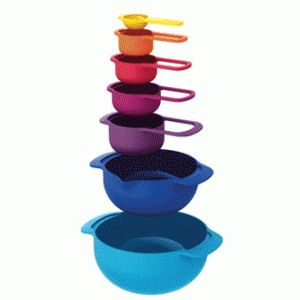 Joseph Joseph Nest Plus 7 Piece Multi Colour Set