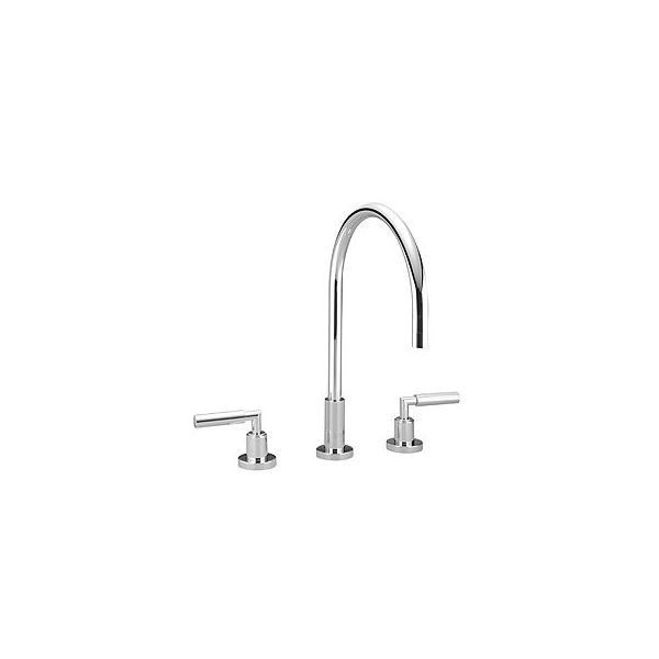 Dornbracht Tara Platinum Matte Two Handle Kitchen Faucet