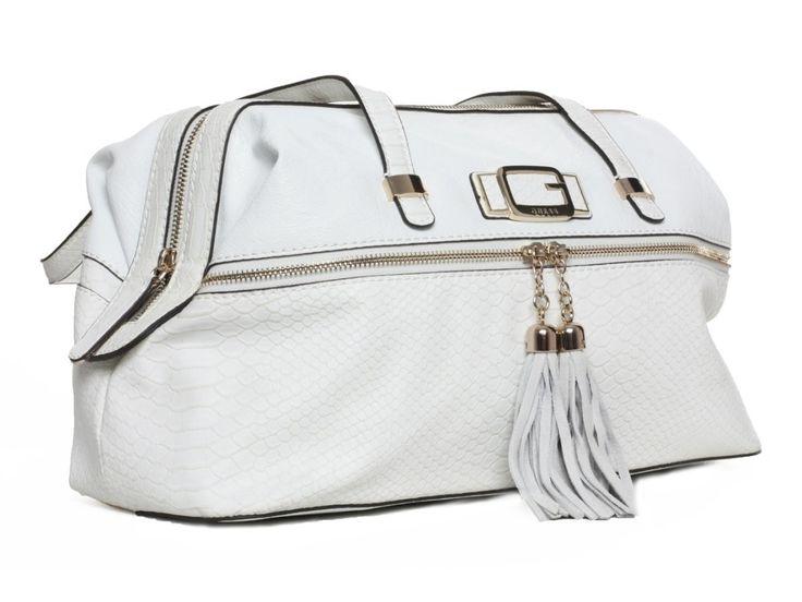 Dámská bílá kabelka GUESS - 100061993   obujsi.cz - dámská, pánská, dětská obuv a boty online, kabelky, módní doplňky