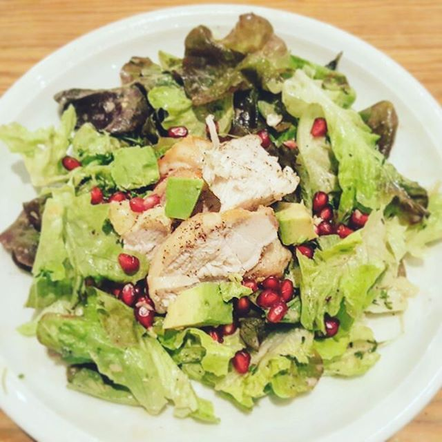 Mittagssnack #fitnessfood #food #foodporn #instafood #instadaily #superfood #avocado #lowcarb #healthy #healthyfood #salad