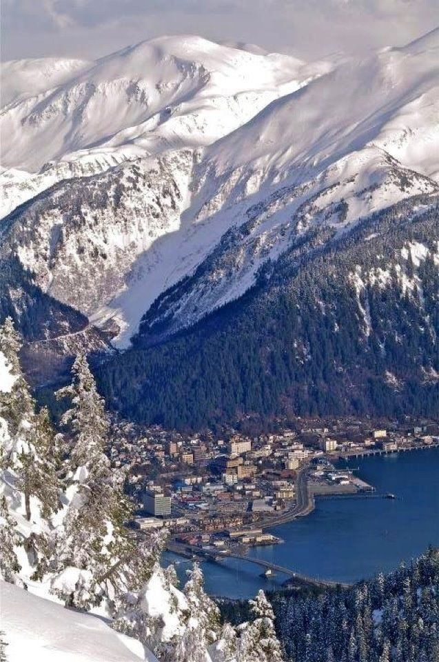 Downtown Juneau, Alaska.: Favorite Places, Alaska Crui, America Places To See, Amazing Alaska, Juneau Alaska, Beautiful Places, Alaskan Home, Alaska Vacations, Alaska Powder