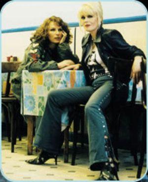 Patsy and Edina.... Absolutely Fabulous!