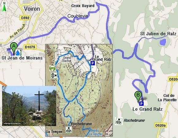 Belvédère de Rochebrune en Chartreuse