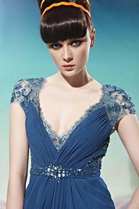 Blue Lace Detailing