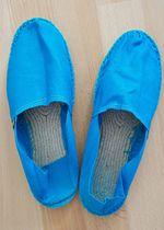 Espadrij l´original - Espadrilles - Blau - Cyan . Gr. 42