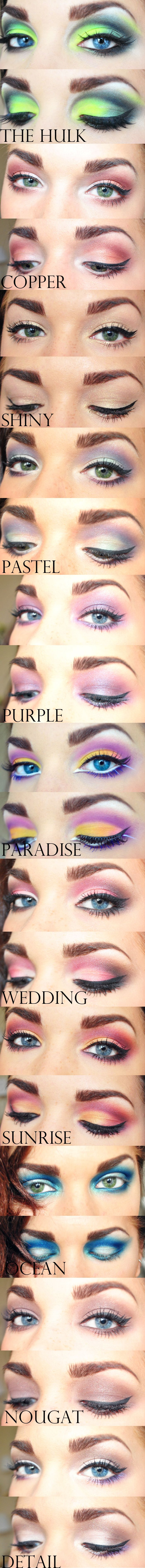 Amazing makeup looks using Younique eye pigment colors (amazing hulk is #1) to order chick out https://www.youniqueproducts.com/Danniescosmetics/business for more tips and info check out https://www.facebook.com/groups/614933658608859/