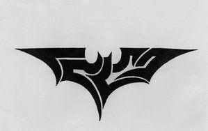 Batman Tribal by 814CK5T4R