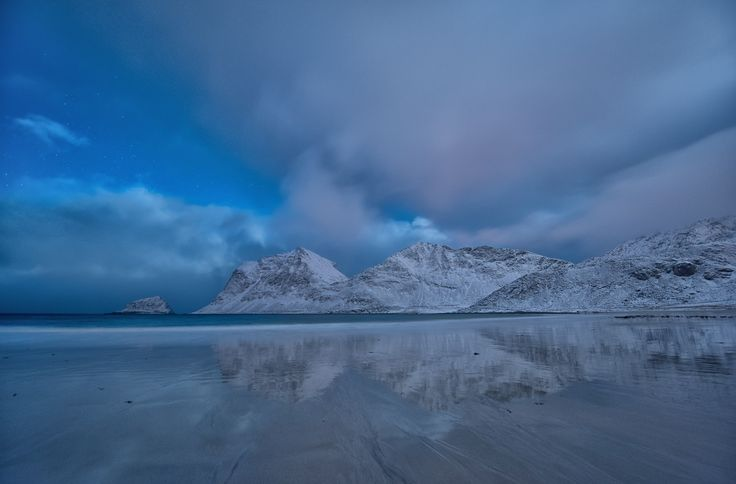 haukland after sunset